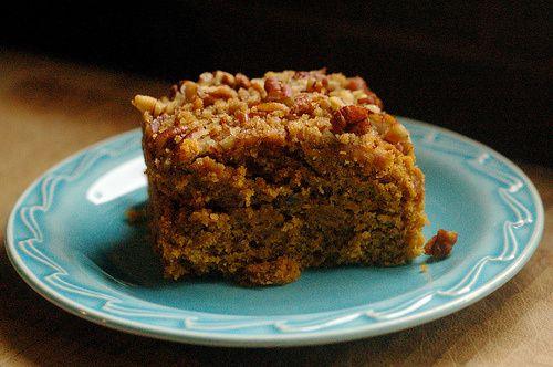 pumpkin crumble pumpkin spice cake gf pumpkin crumble cake gluten free ...