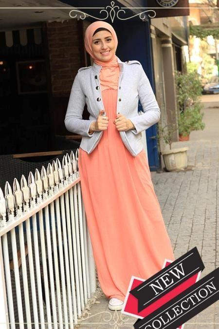 spring maxi dress hijab style