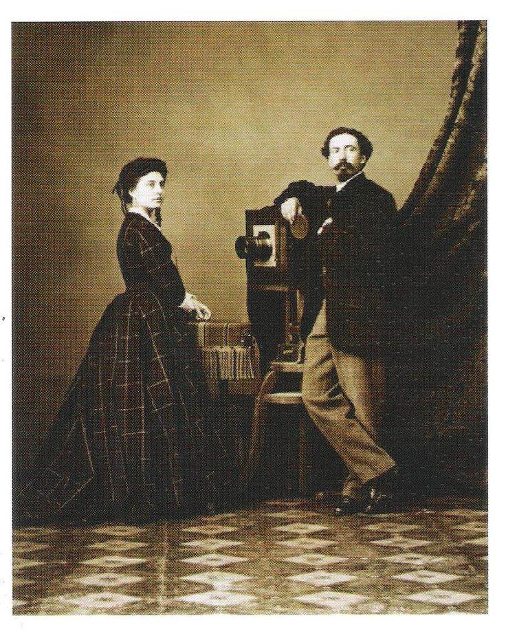 Auto-Retrato (1865, foto de Carlos Relvas), Golegã, Ribatejo.