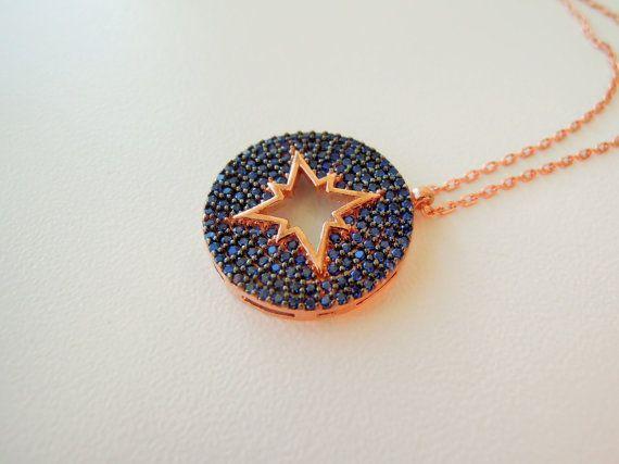 Evil eye necklace  evil eye jewelry  something by ebrukjewelry