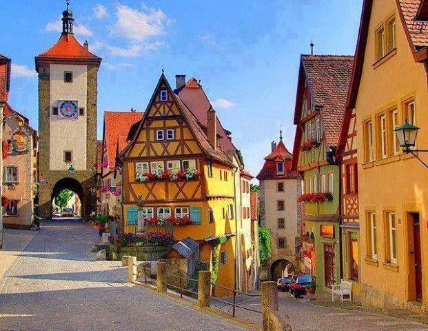 Tablo gibi sokak- Almanya...