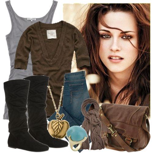 I love her style!!! Everything she wore in twilight I want!! lol