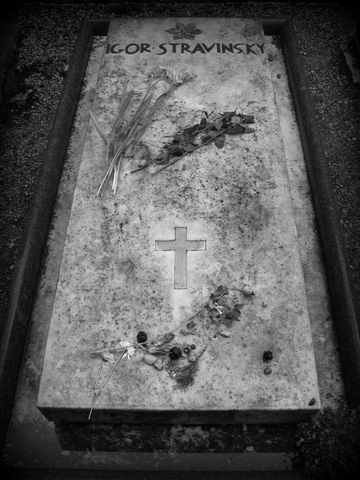 Igor Stravinsky, Isola di San Michele (Cemetery), Venice