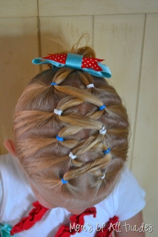 Fun hairstyle for the girls