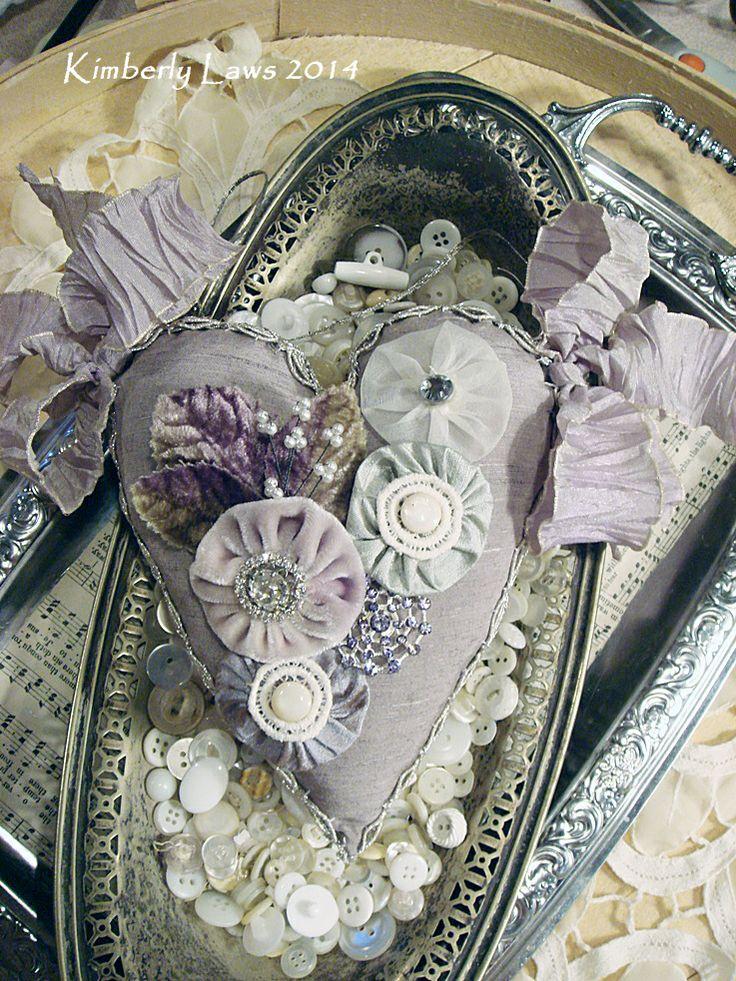 artjoystuff lovely lavender flower ribbon crafts. Black Bedroom Furniture Sets. Home Design Ideas