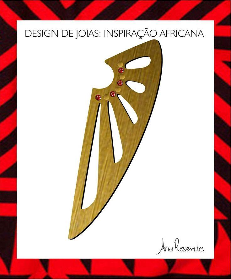 Teste de design de joias desenvolvido no 3° ano da faculdade de Moda.