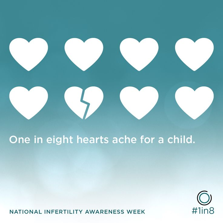 ❤️ this for the #1in8 hearts that ache #NIAW #Infertility