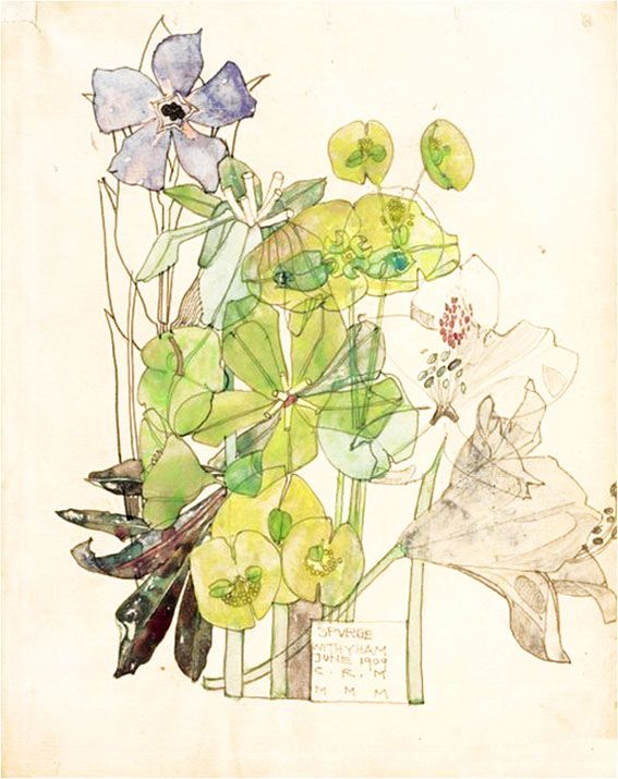 SENSORY LEVEL: Charles Rennie Mackintosh & Margaret MacDonald Mackintosh