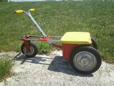 Vintage 1950 S Toy Irish Mail Cart Pedal Car Chain Driven