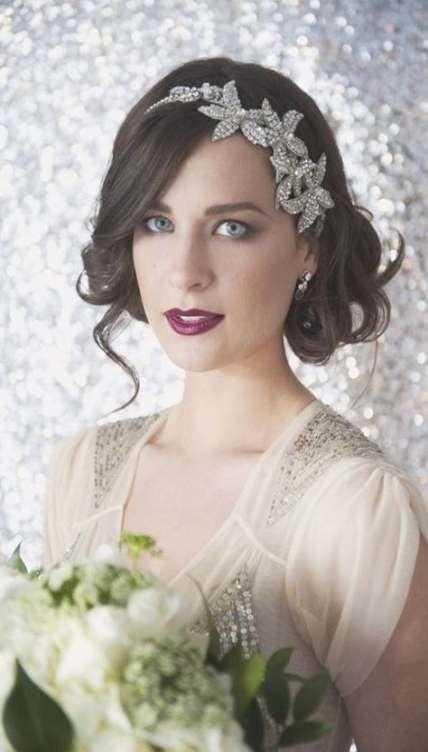 Hochzeitskleider Vintage kurze Frisur Ideen 27 besten Ideen