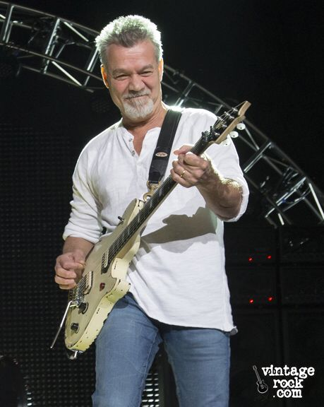 Eddie Van Halen, Guitarist, Keyboardist & Backing Vocalist 1972-