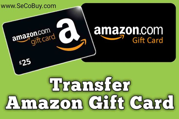 Is It Possible To Transfer Your Amazon Gift Card Balance To Another Account If Possible Then How To Transfer A In 2020 Gift Card Balance Amazon Gift Cards Amazon Gifts