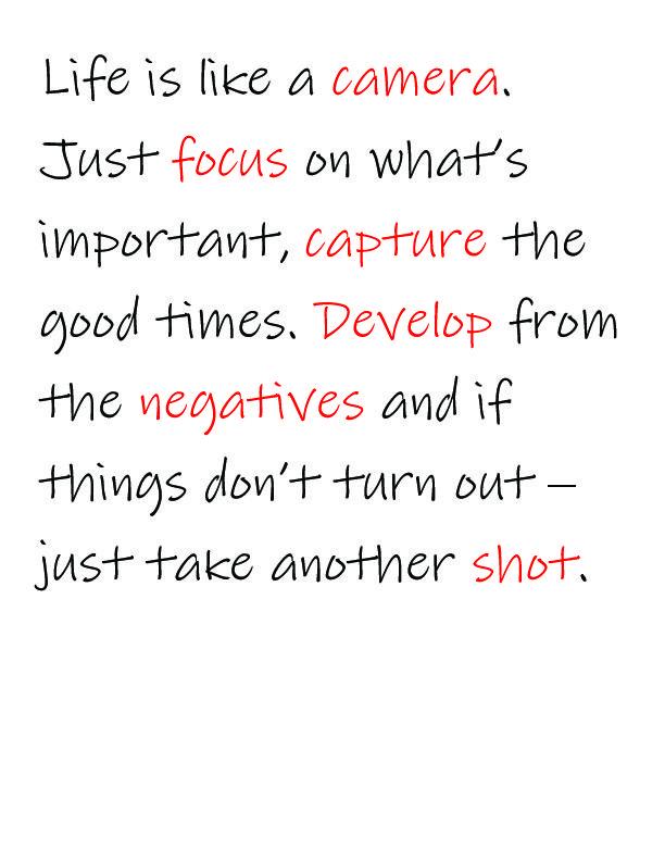 Senior quote!