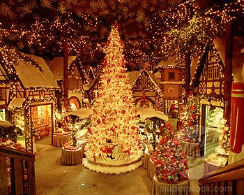 """Rothenburg Germany Christmas Store: Room after room of Christmas things. Whole """"themed"""" rooms.... Angels, Nutcrackers, etc. Amazing!"""