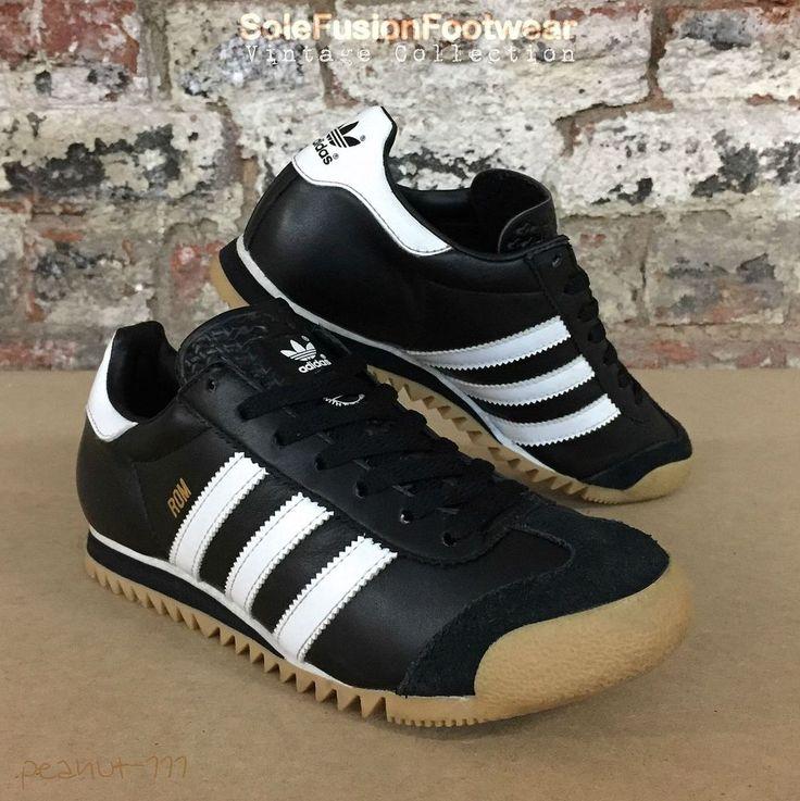 adidas Originals ROM Trainers Black sz 5 Mens/Womens Rare Sneakers US 5.5 EU 38  | eBay