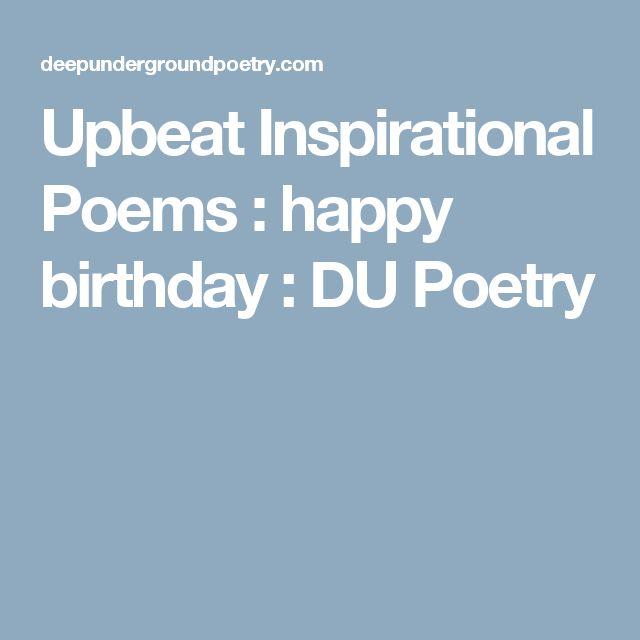 Best 25+ Short Birthday Poems Ideas On Pinterest