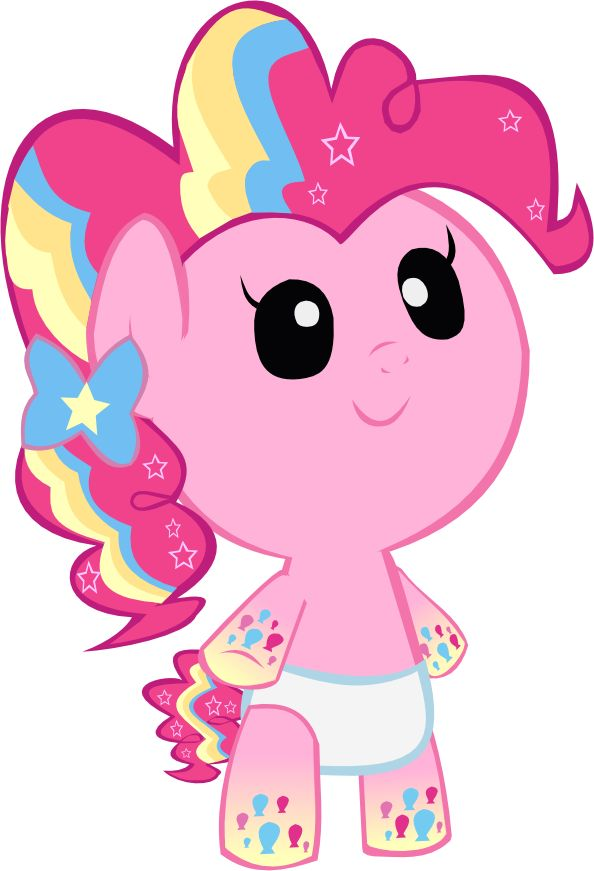 Cute Rainbow Power Pinkie Pie Foal1 by MEGARAINBOWDASH2000 on DeviantArt
