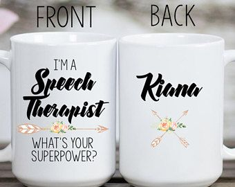 SLP Mug, Speech Therapy Mug, Funny SLP, SLP Gifts, Speech Language Pathologist, Speech Therapy, Gifts for Speech Therapist, Graduation