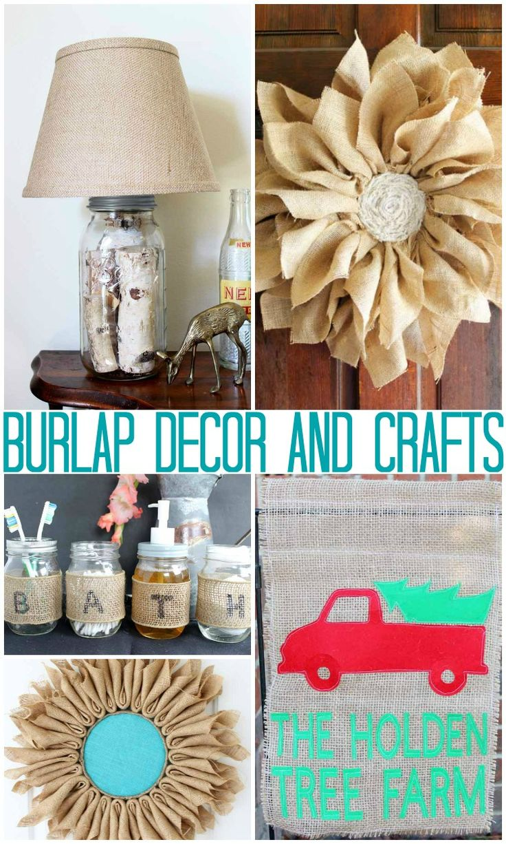 1191 best burlap crafts decor and ideas images on pinterest burlap crafts craft and burlap. Black Bedroom Furniture Sets. Home Design Ideas