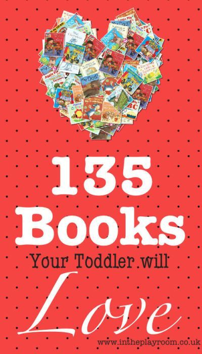 135 Book Recommendations for Toddlers | In The Playroom