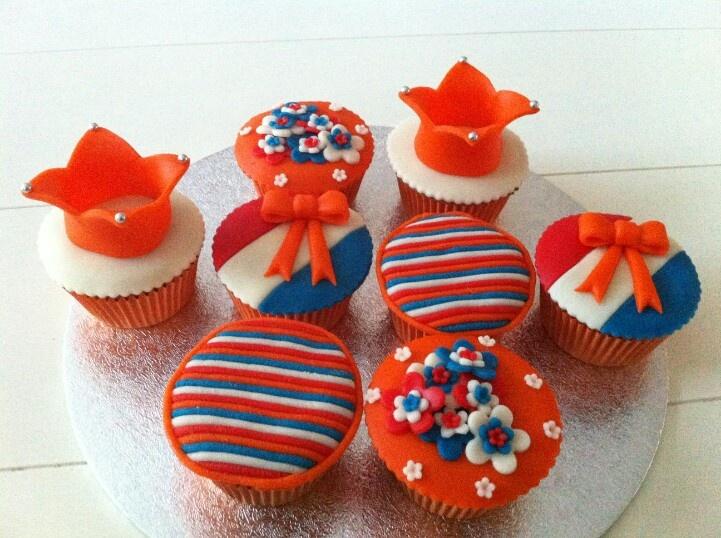 I <3 Holland cupcakes
