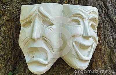 Comedy Tragedy Masks