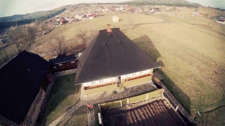 Bucovina - Casa Bunicilor din Straja - Filmare aeriana