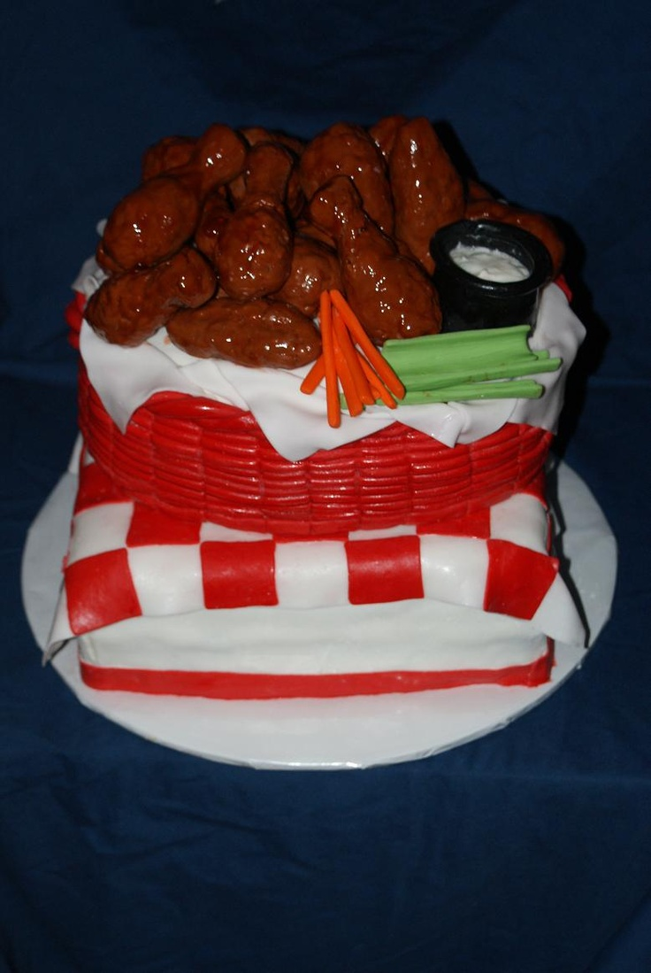 Buffalo Chicken Wings Birthday Cake Boy S Birthday Cakes