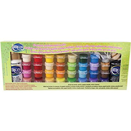 DecoArt 34 Color Value Pack Set, Americana