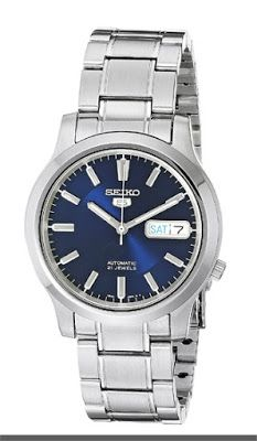 Seiko 5 Men's SNK793 Automatic Stainless Steel Watch with Blue Dial   $98.99 & FREE Shipping.