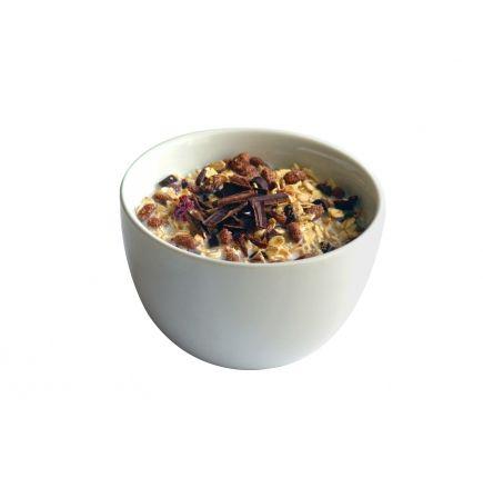 Céréales poire chocolat Linéadiet (minceurmoinscher.com) En-cas hyperprotéinées  (7 sachets de 23,5 g)  Souvenez-vous de ces glaces ou yaourts à l'italienne parsemés de copeaux de chocolat... Vous pouvez désormais retrouver ce plaisir dès le petit-déjeuner, avec ces céréales hyperprotéinées à la stracciatella qui s'intègrent parfaitement à votre régime. Avec leur teneur réduite en sucres et en graisses, vous pouvez attaquer la journée avec un bol hypocalorique mais très gourmand !
