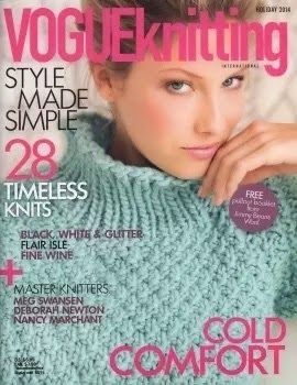 Daily: Vogue knitting holiday 2014