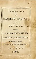 The Church of Jesus Christ of Latter-day Saints hymns - Wikipedia, the free encyclopedia