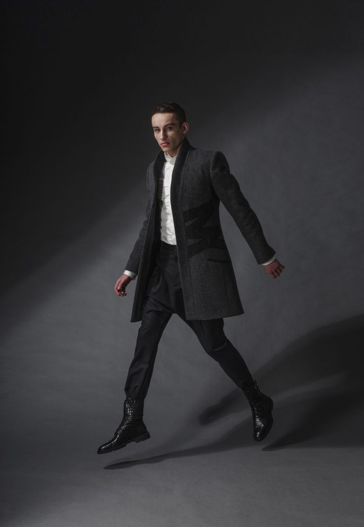"kimono coat michal kozlowski   diploma collection ""debut""   2014"