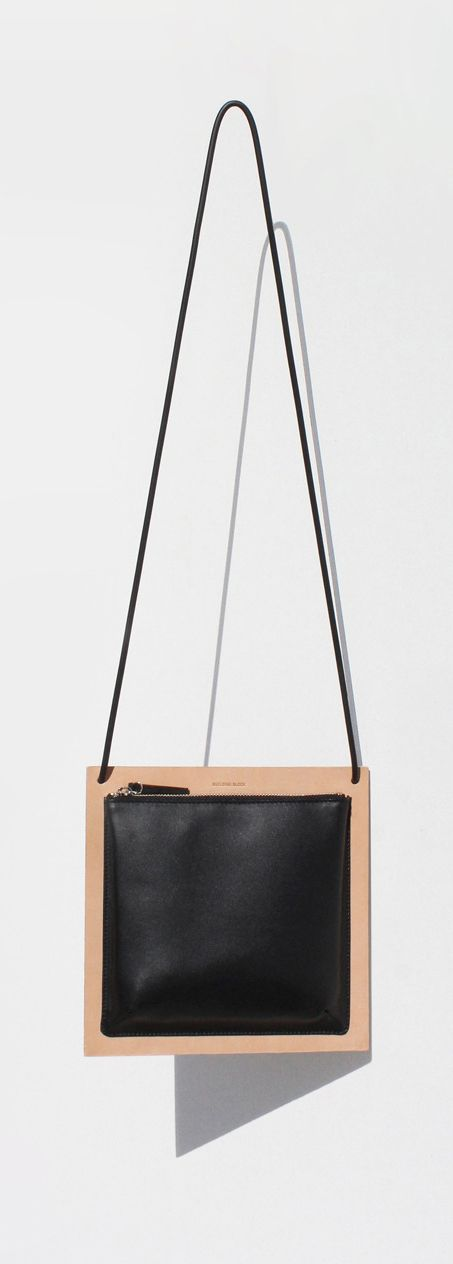 Building Block | Autumn Winter 2013 | Frame a double sided bag