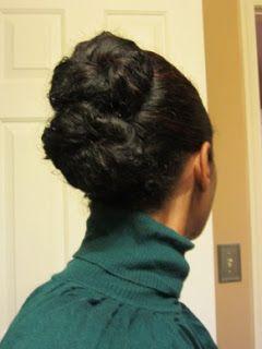 Two Bun Banana Clip Updo Tutorial | Curly Nikki | Natural Hair Styles and Natural Hair Care