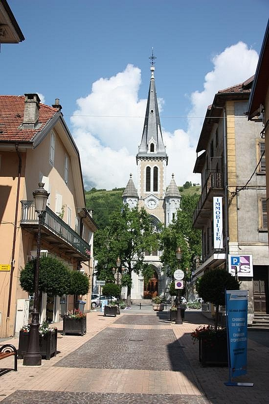 I was born in Albertville, France, a sleepy little town nestled in the French Alps.