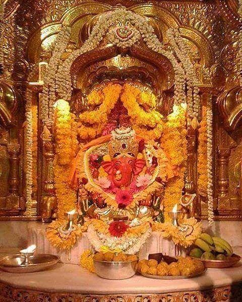 """Shri Siddhivinayak Ganpati 664 Likes, 10 Comments - Ganpati Bappa Moryaaa... (@ganpati_bappa_moryaaa) on Instagram: """"सुखकर्ता तु दुःख हर्ता तु........ आशिर्वाद तु ............ सर्वच तु. बाप्पा विघ्नहर्ता मोरया..."""""""