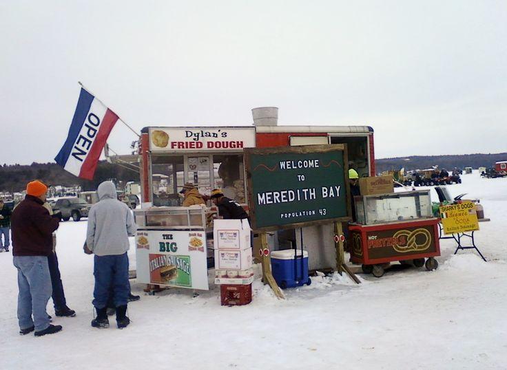 Ice Village Meredith NH 2014