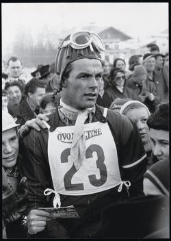 Toni Sailer, Winter Olympics 1956   - SKI Magazine