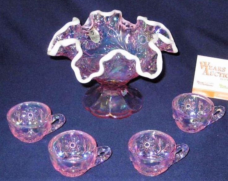 80 Best Fenton Glass Images On Pinterest Jar Vase And Flower Vases