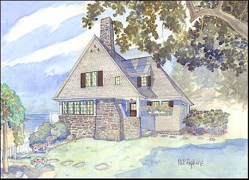 11 best images about new england cottage on pinterest for Maine home plans