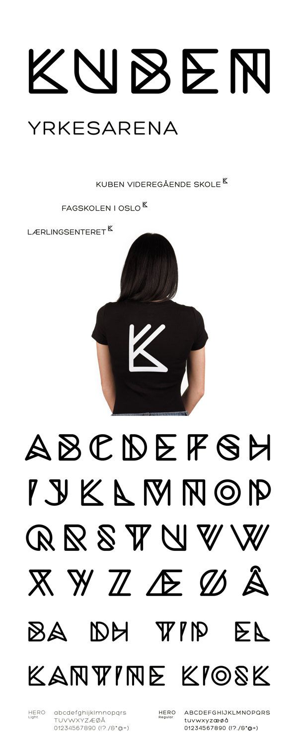 Kuben yrkesarena on Typography Served