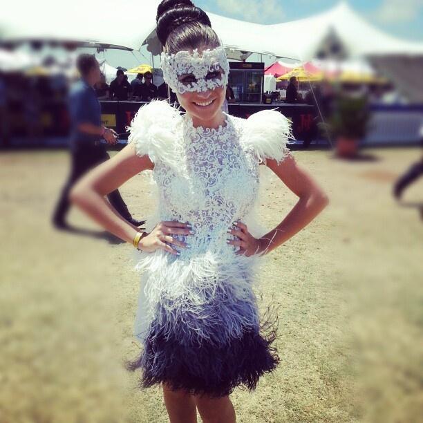 Avant Garde Feather Fashion