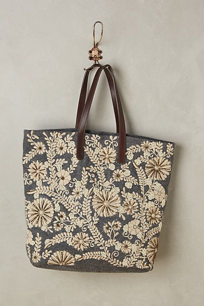 Paris Years Tote #anthropologie