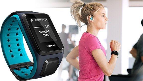 Vì những hành trình thú vị hơn - Đồng hồ GPS TomTom Spark 3 - Hỗ trợ tối ưu hoạt động chạy bộ cùng cảm biến đo nhịp tim và lưu trữ gần 500 bài hát.