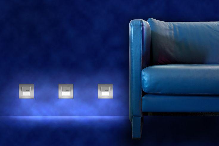 TANGO - Utilisez :  - Pour l'éclairage des passages - Pour l'éclairage des escaliers - Comme une décoration sur le mur