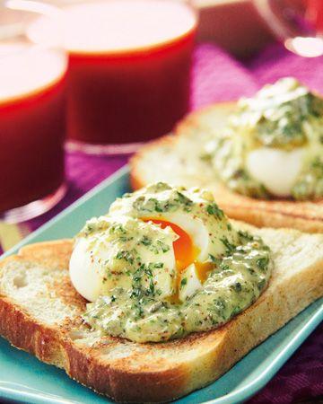 Das Rezept | Katerfrühstück aus Eiersalat und Blutorangensaft