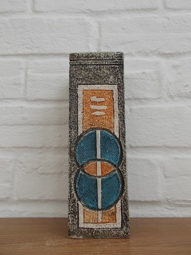Troika Cormwall British 70s Abstract Art Studio Pottery Allison Brigdon Vase | eBay