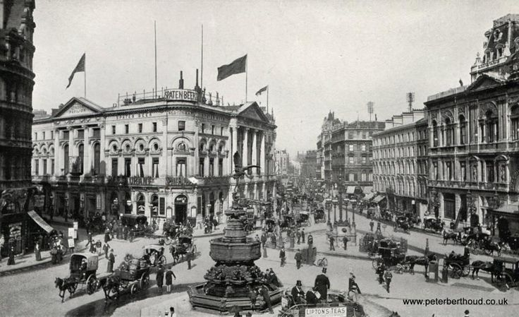 Piccadilly Circus 1908